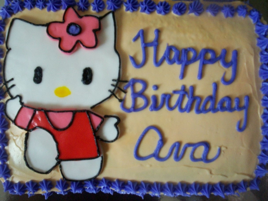 Hello Kitty 2 on Cake Central