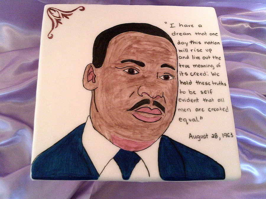 Dr. Martin Luther King Jr . Cake on Cake Central