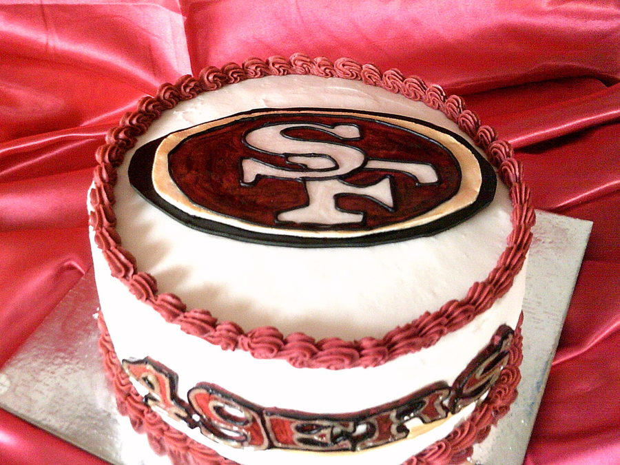 San Francisco 49Ers Cake on Cake Central