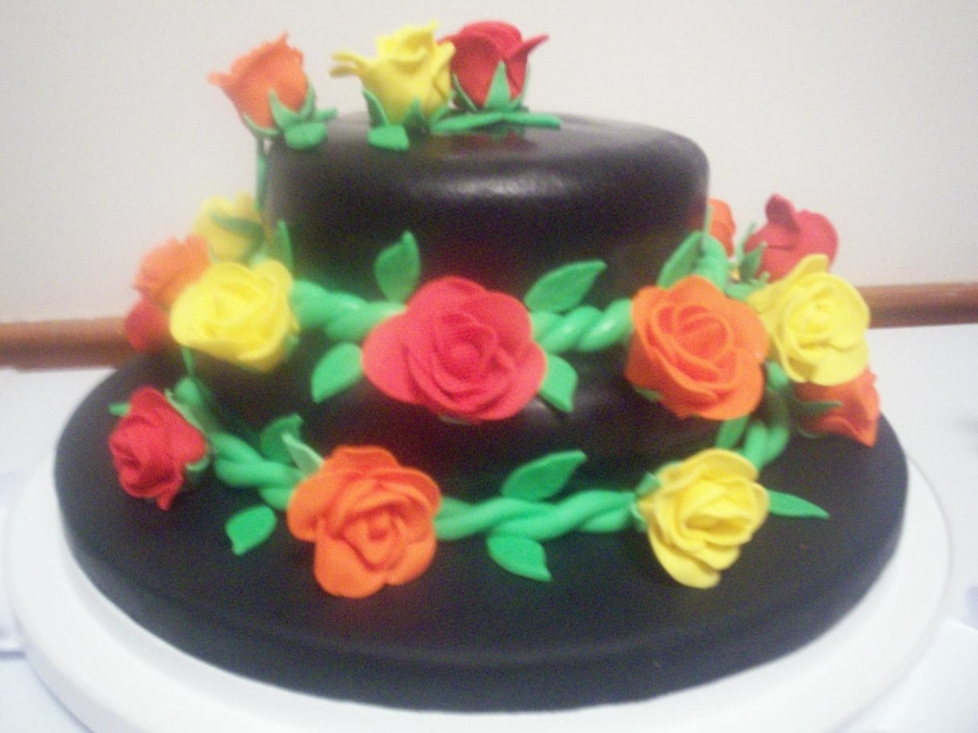 Blooming Roses on Cake Central