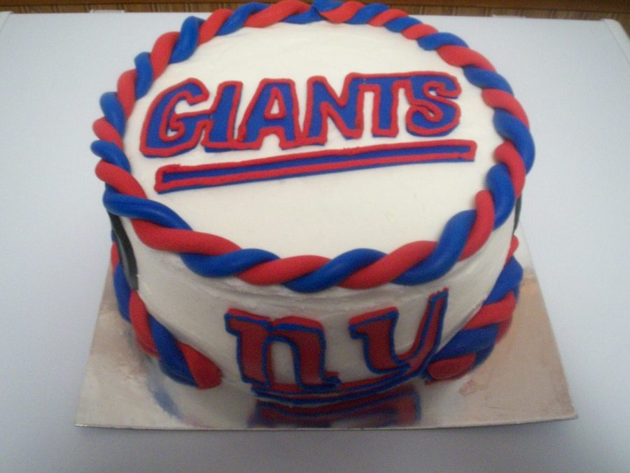 New York Giants Cake on Cake Central