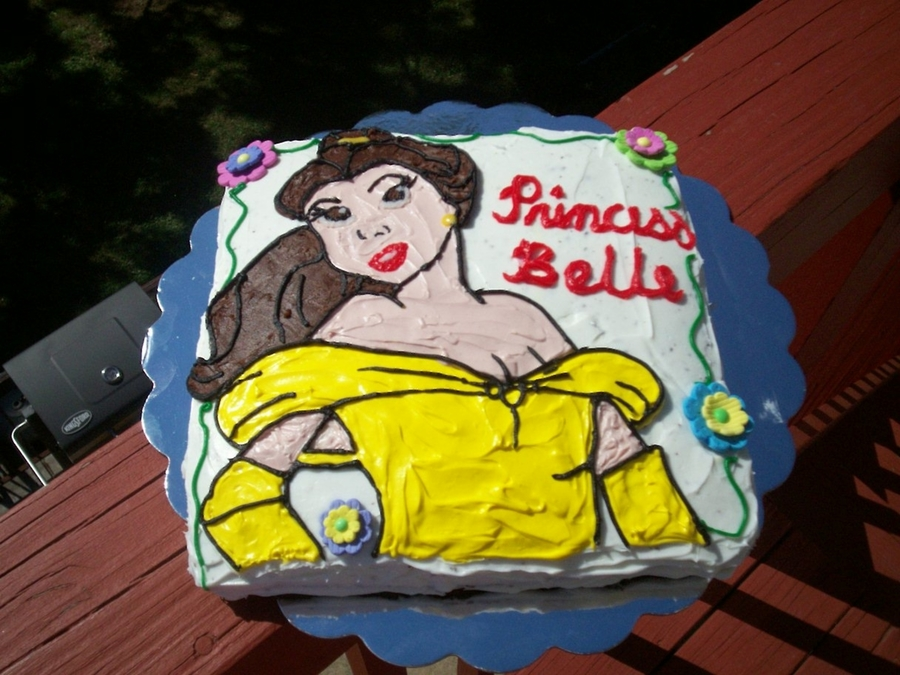 Princess Belle on Cake Central