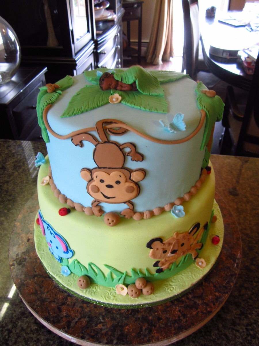 Jungle Fun Cakecentral Com
