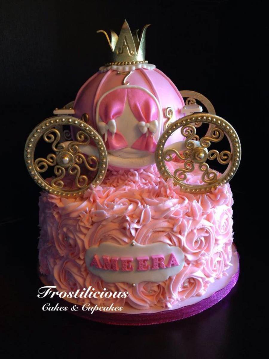 Princess Carriage Cake Cakecentral Com