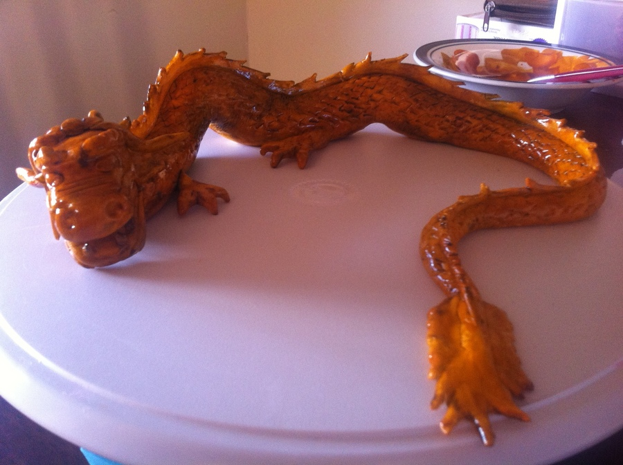 Antique Fondant Dragon on Cake Central