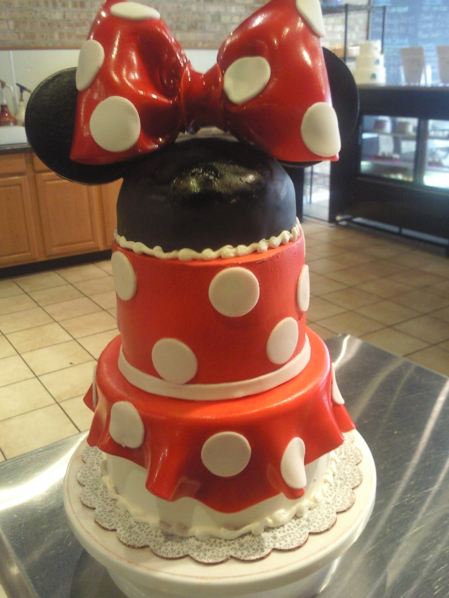 Minnie's Dress on Cake Central