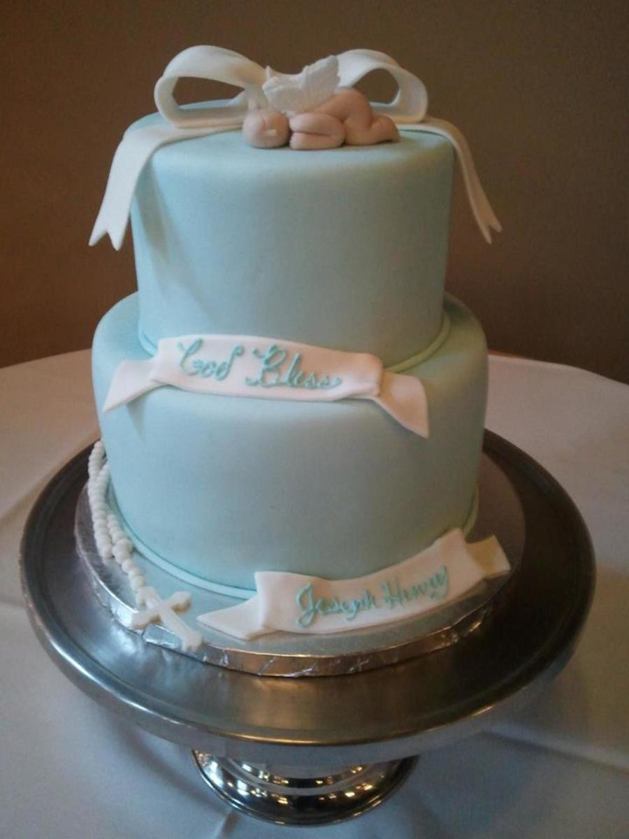Baby Boy Baptism on Cake Central