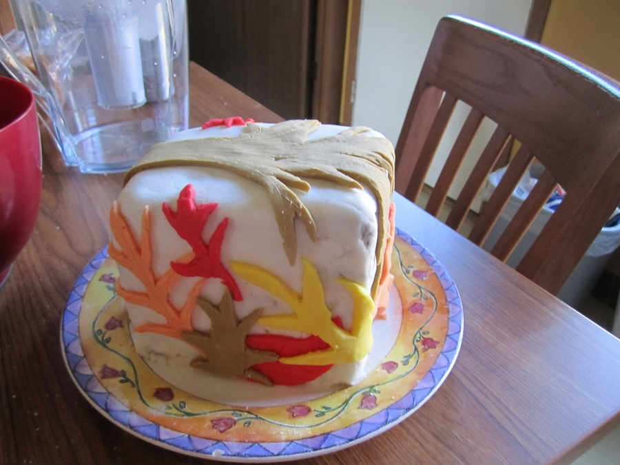 Fall Block on Cake Central