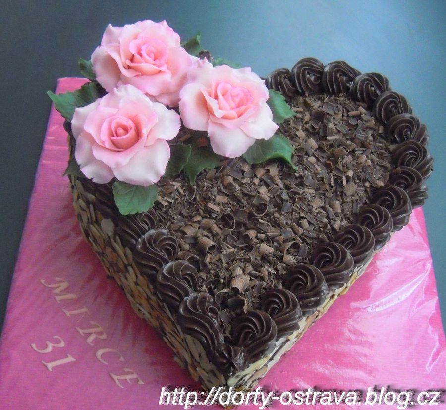 The Chocolate Heart on Cake Central