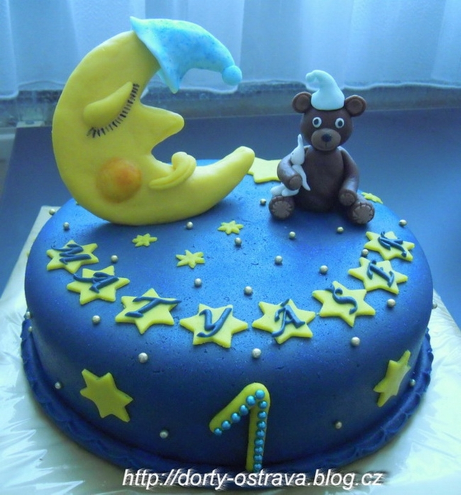 Bear And Moon on Cake Central
