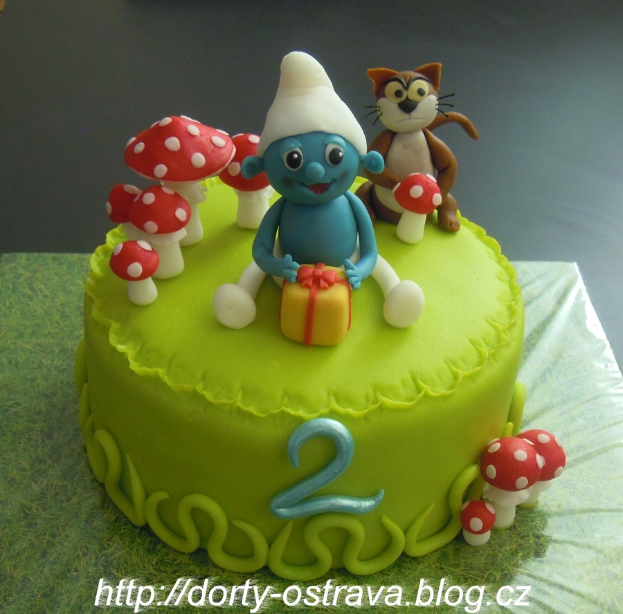 The Smurf on Cake Central