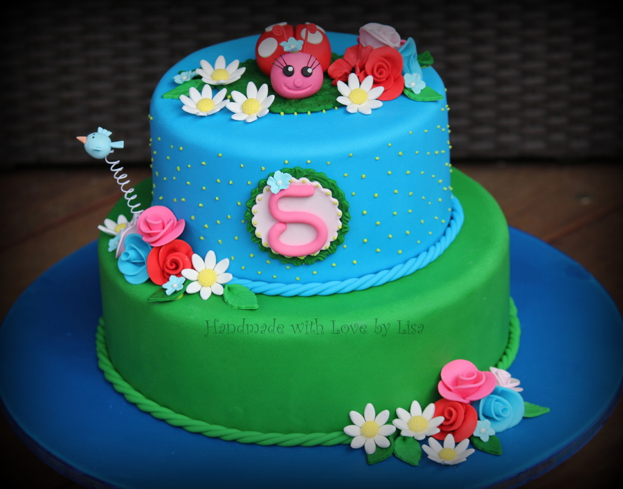 My Little Girls 5th Birthday Cake Cakecentral