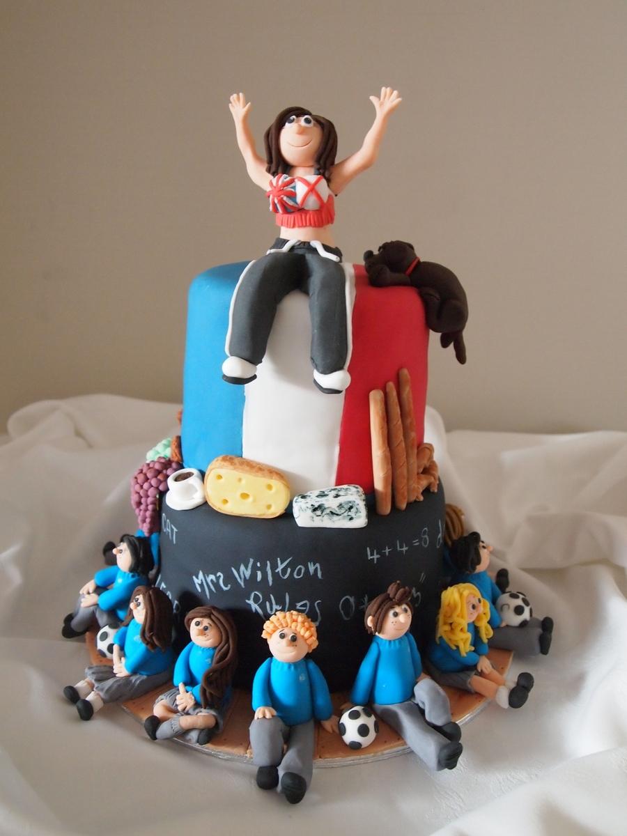 Cake For School Teacher Cakecentral Com