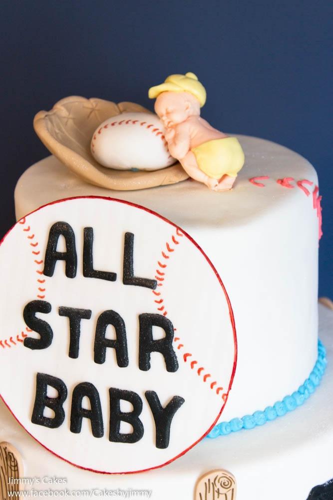 all Star Baby Baby Shower Cake CakeCentralcom