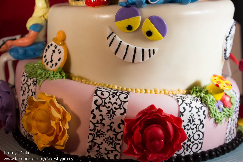 Alice In Wonderland Birthday Cake My 32nd For A Party
