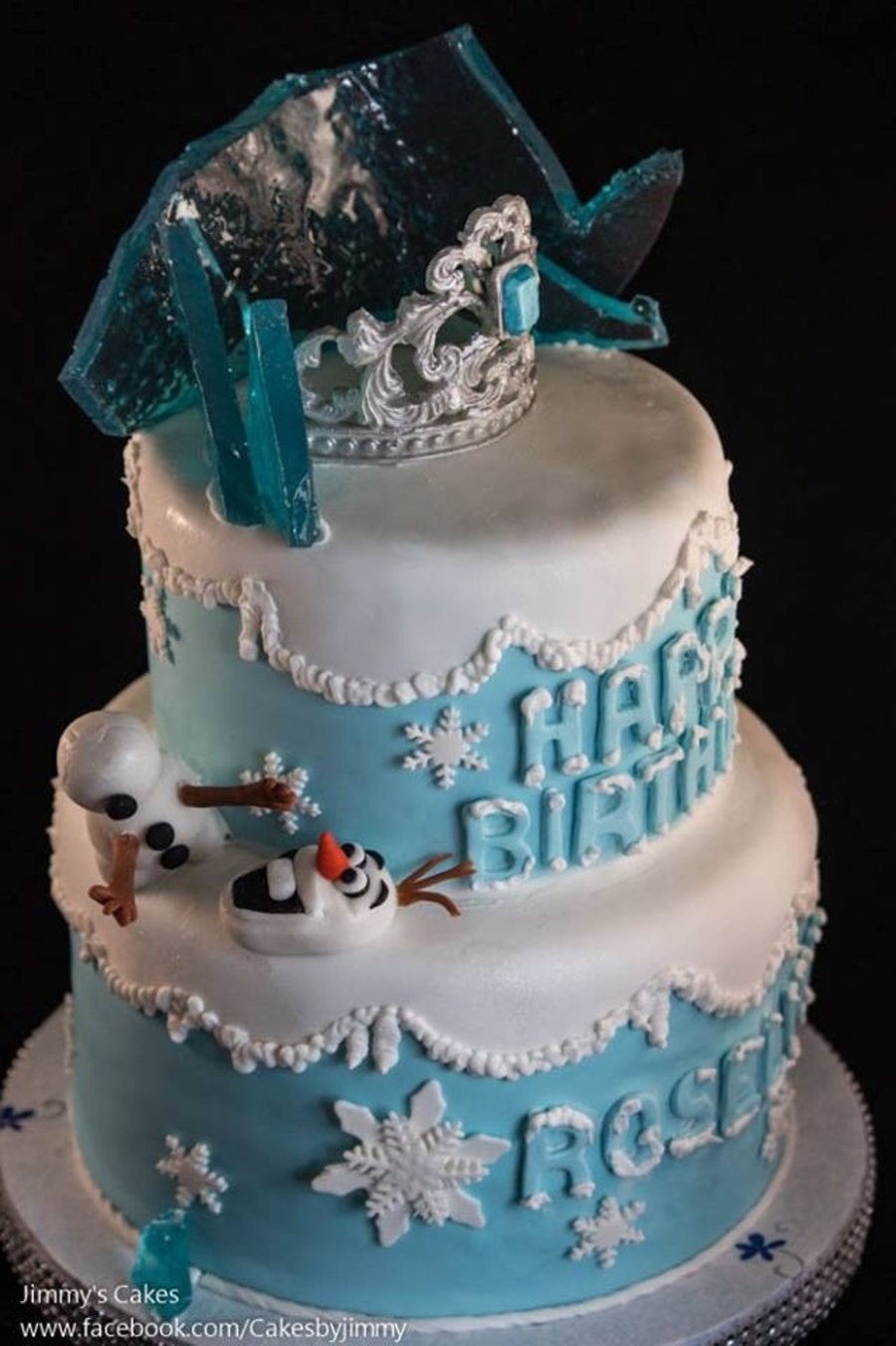Birthday Cake Ideas Disney Frozen : Disney Frozen Birthday Cake - CakeCentral.com