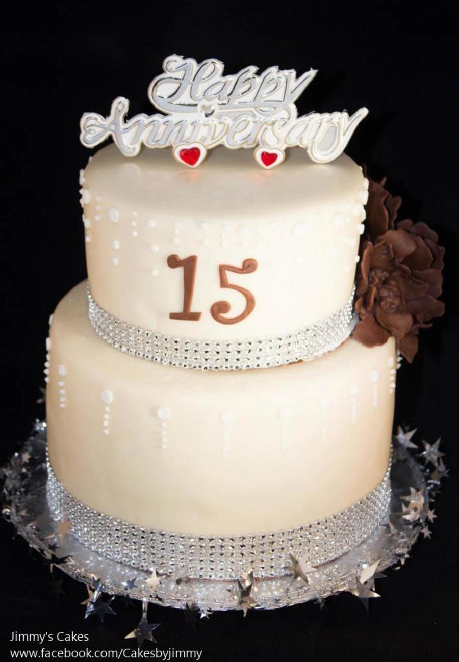 Silver Anniversary Cake Recipe