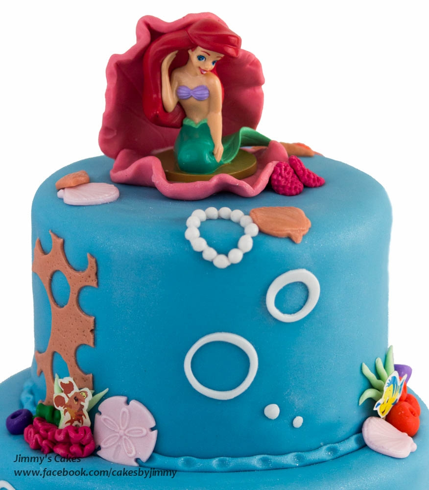 The Little Mermaid Birthday Cake Pictures