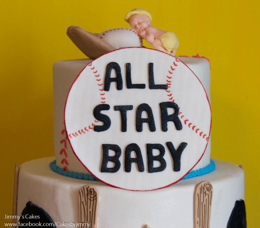 all star baby baby shower cake