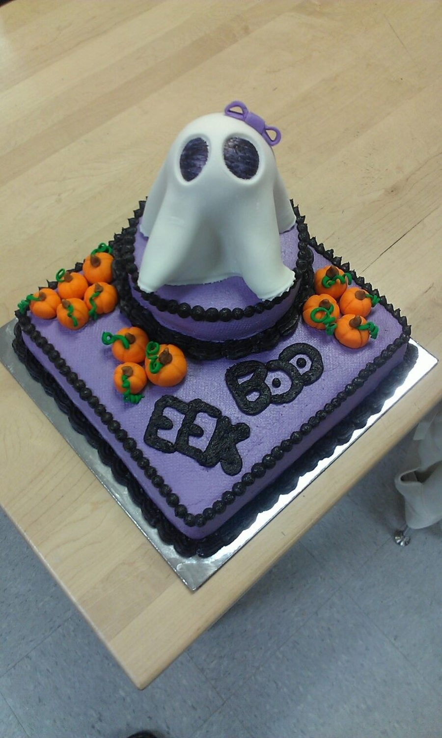 Girl Ghost Cake on Cake Central