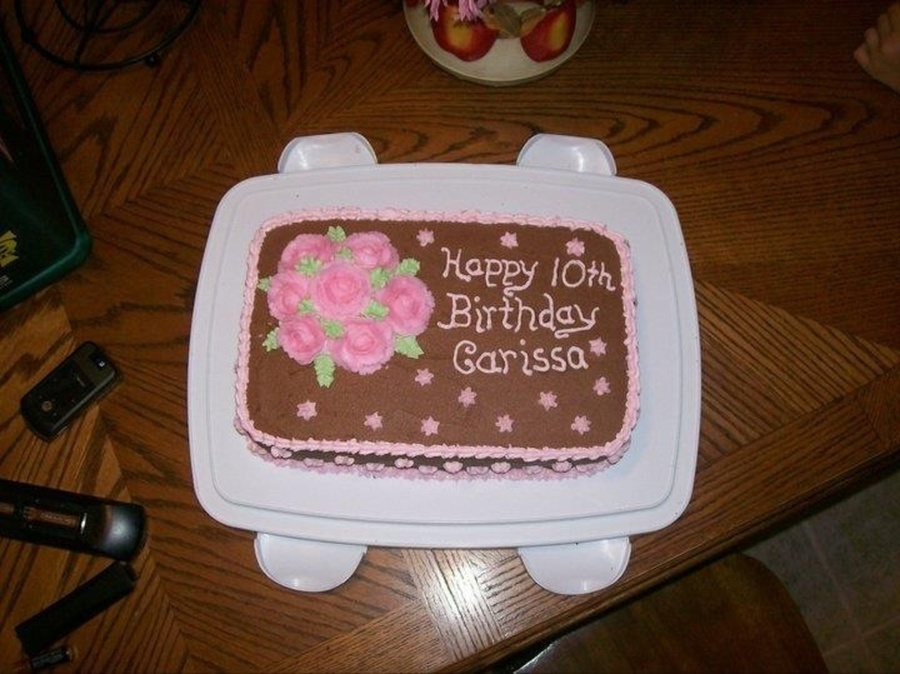 One Of My First Cakes A Long Time Ago on Cake Central