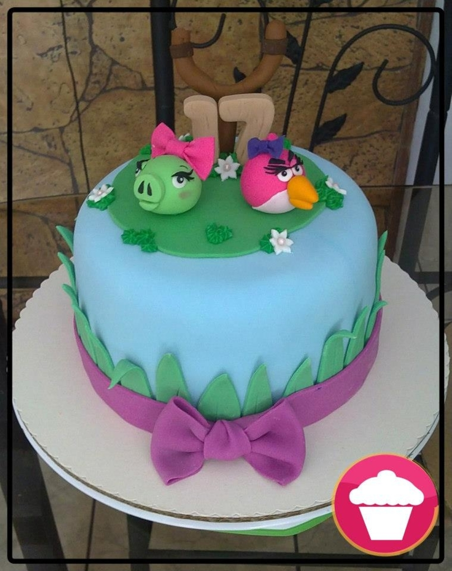 Angry Birds Se?oritas on Cake Central