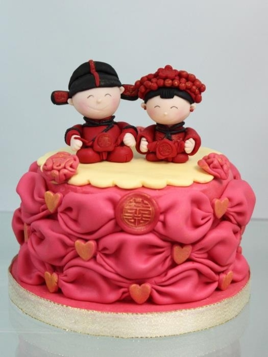 This Photo Was Inspired By Shirley Kwan A Sugarcraft Teacher Thanks For Viewing  on Cake Central