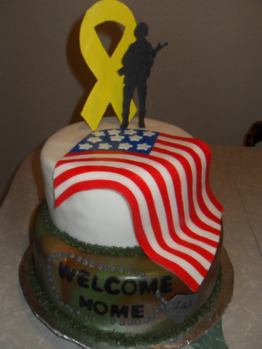 Welcome Home Cake on Cake Central