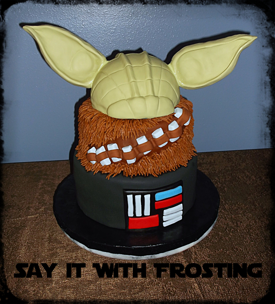 Star Wars Groom S Cake Cakecentral Com