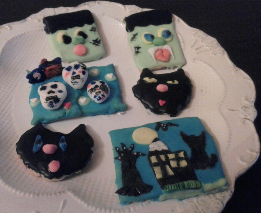 Scary Sweets. on Cake Central