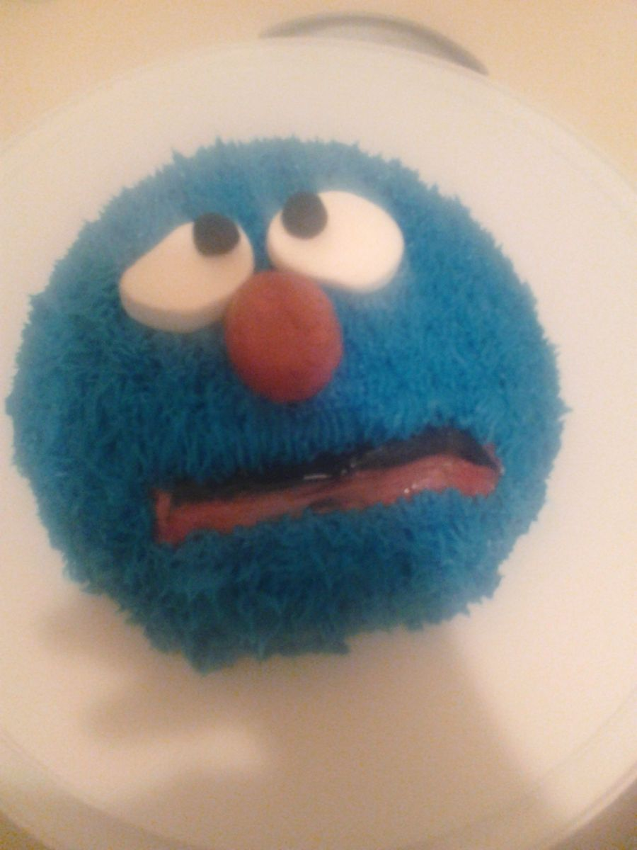 Grover on Cake Central
