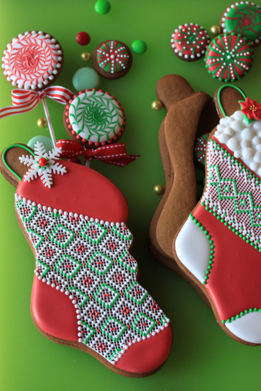 Stuff-Able Stocking Cookies  on Cake Central