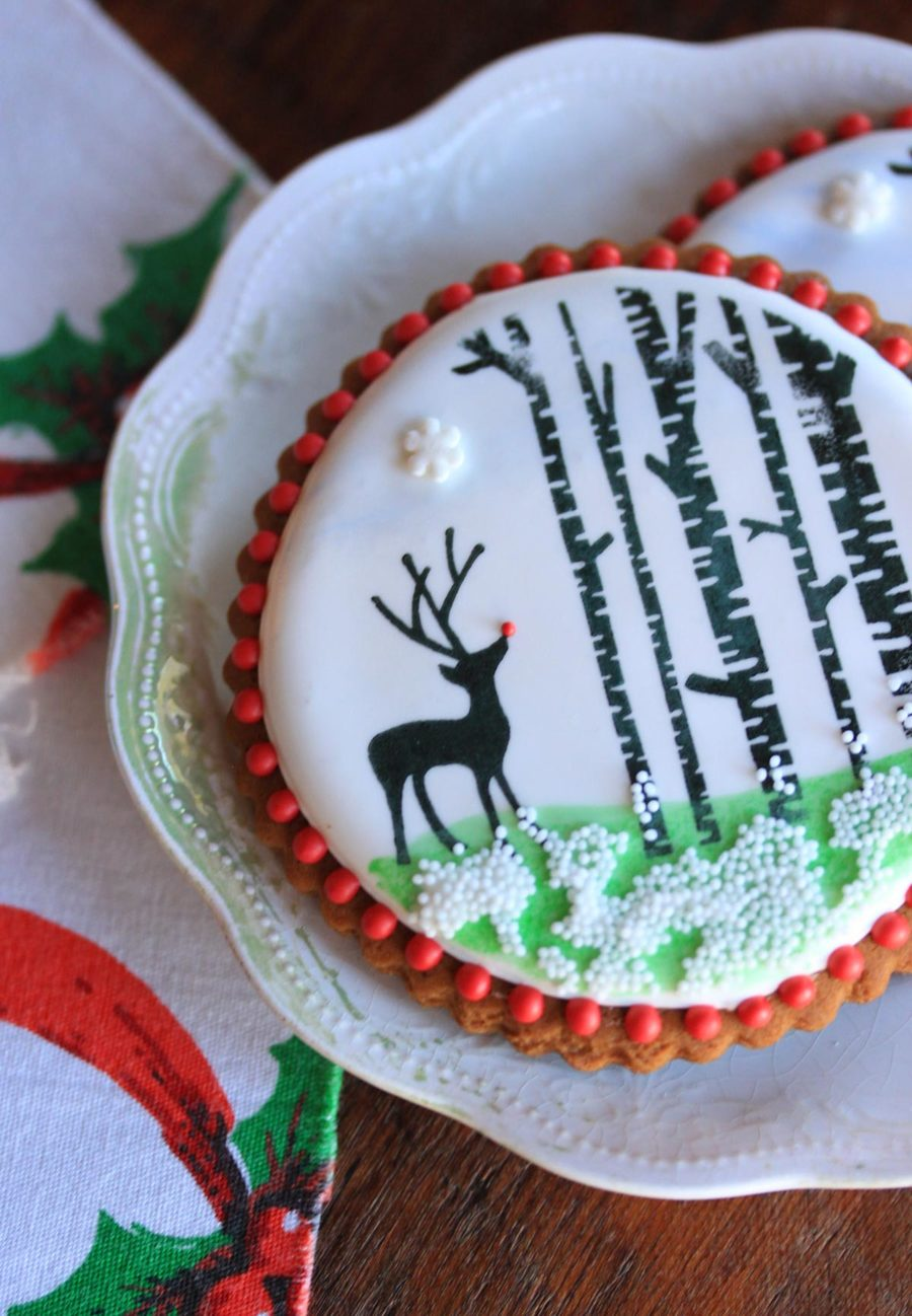 Wish Upon A Snowflake Cookie on Cake Central