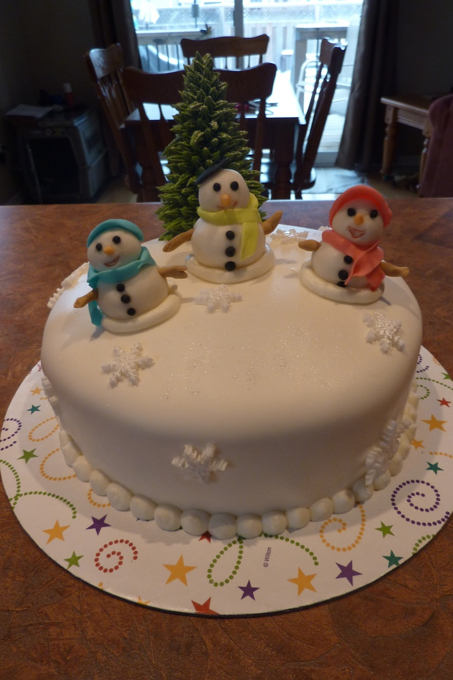 Christmas 2012 Snowmen Are One Of My Favorites on Cake Central