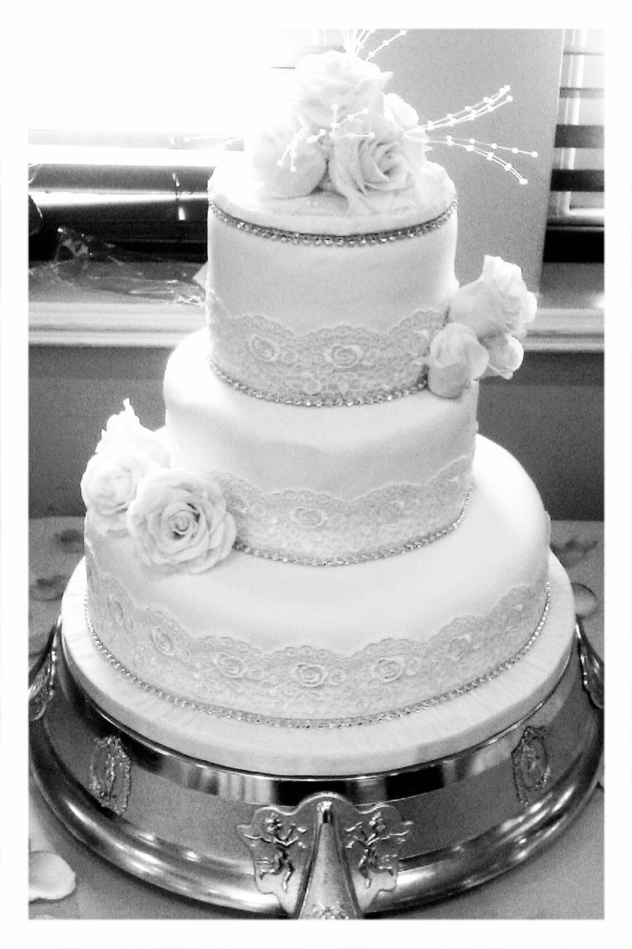 hollywood wedding cakes pictures vintage wedding cake cakecentral 15274