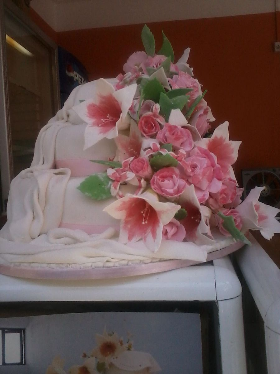 A Wedding Of Flower on Cake Central
