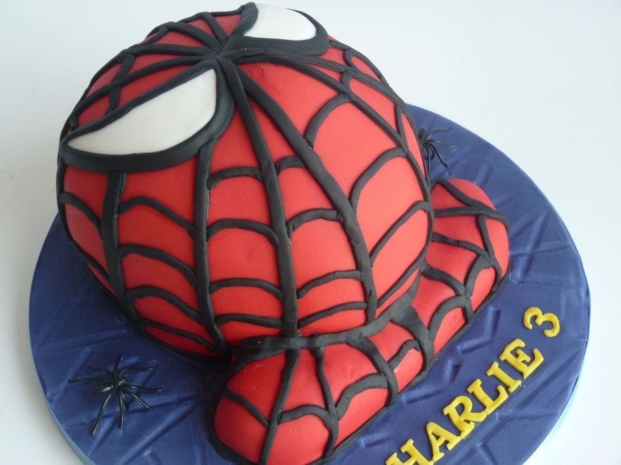 Spiderman! on Cake Central