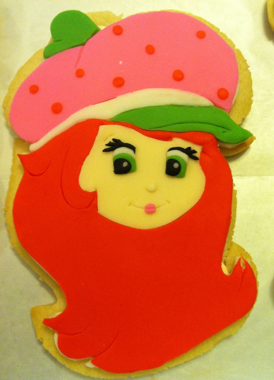 Strawberry Shortcake Cookies on Cake Central