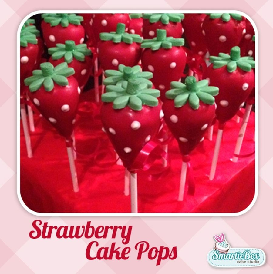 Strawberry Cake Pops on Cake Central
