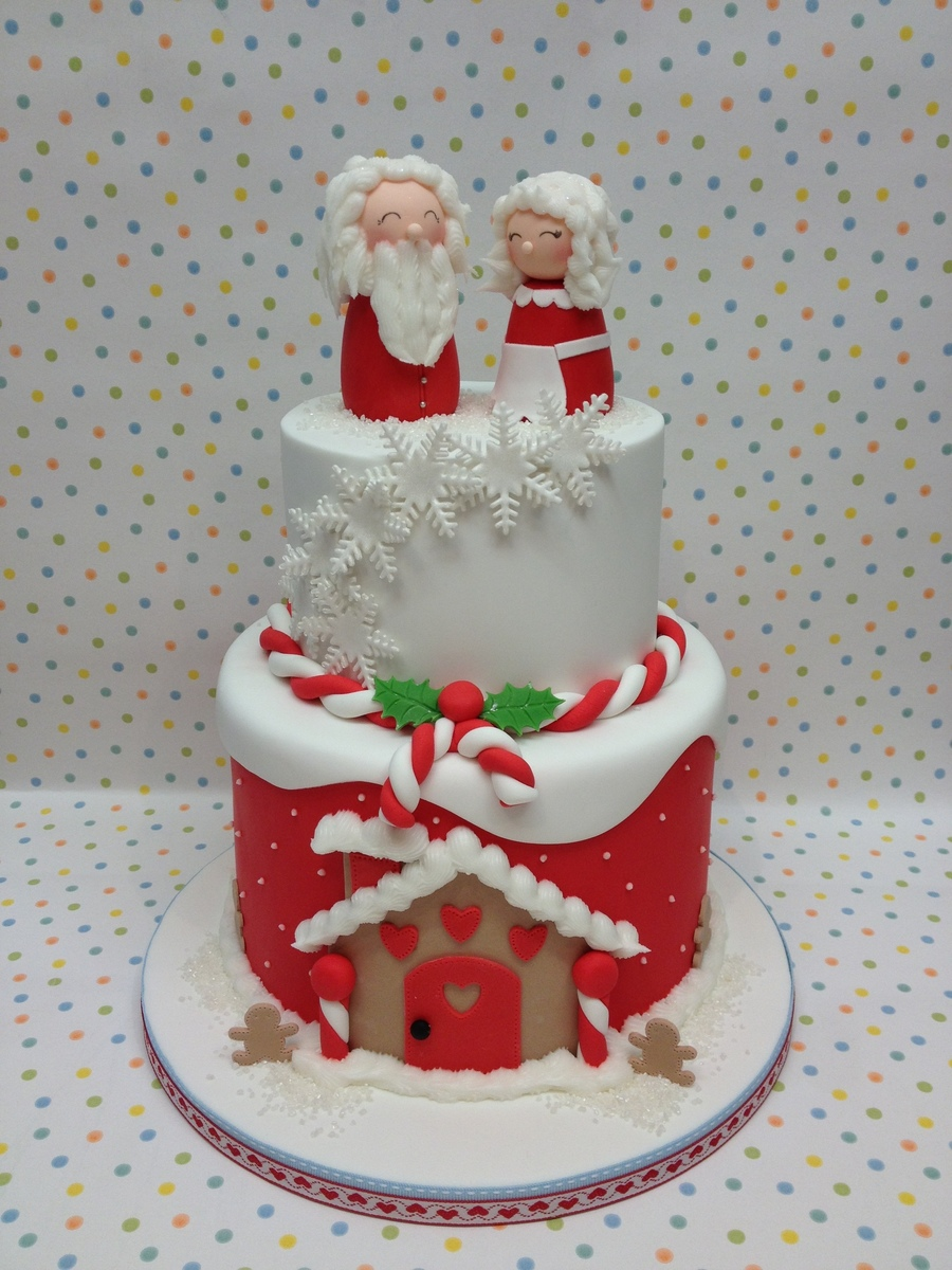 Mr And Mrs Claus on Cake Central