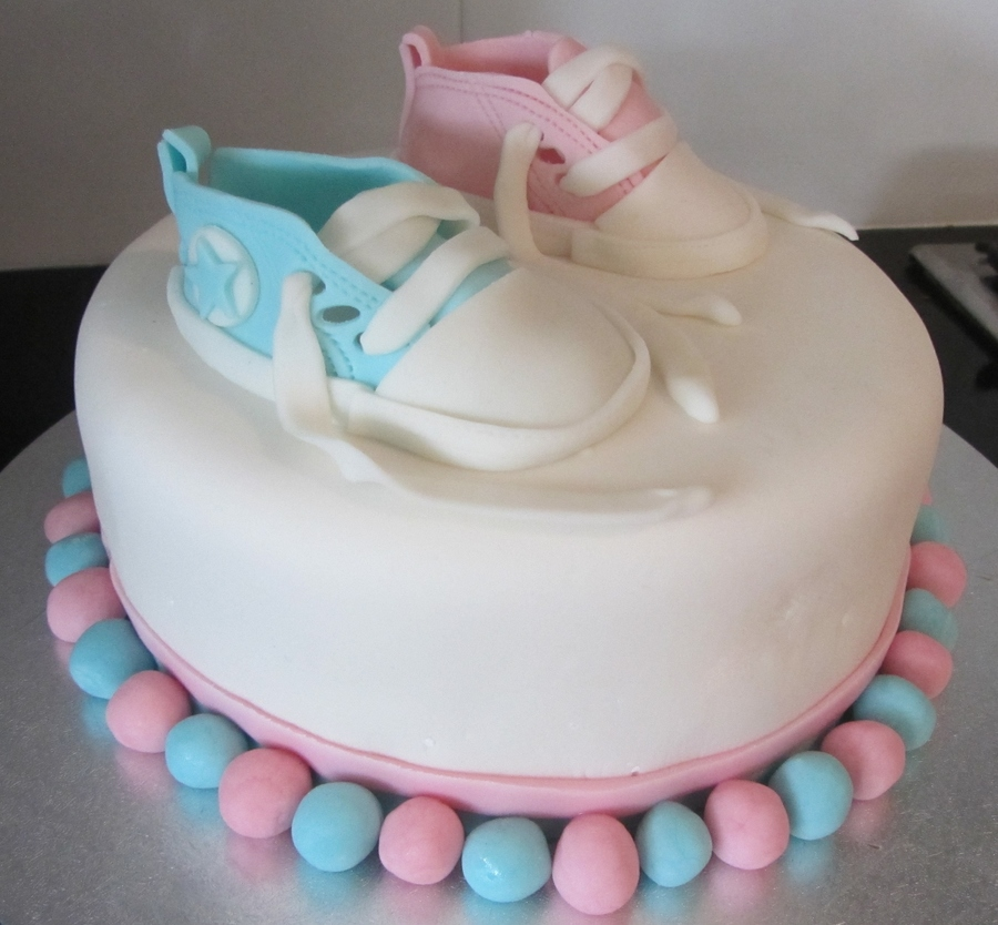 Gender Reveal on Cake Central