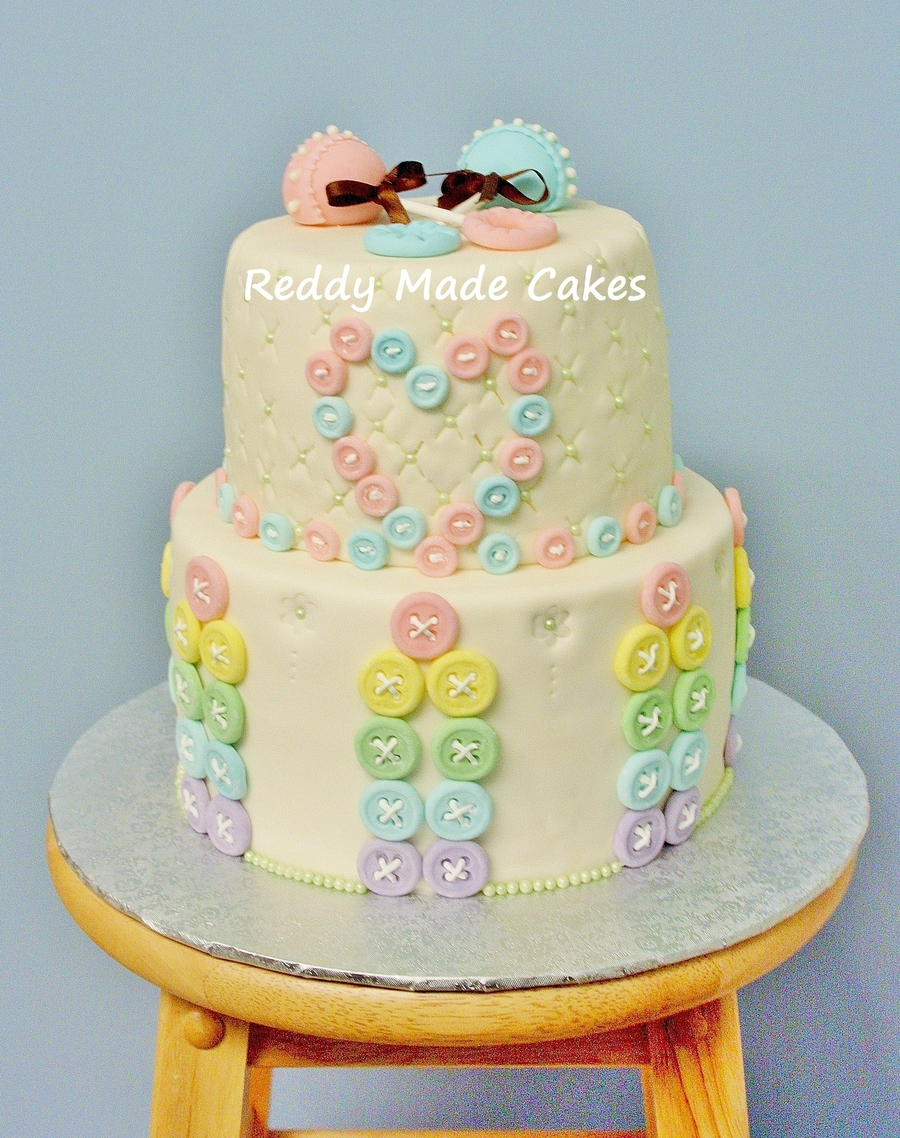 Baby Button on Cake Central
