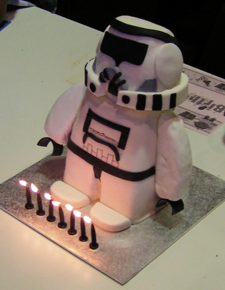 Lego Star Wars Clone Trooper Cakecentralcom