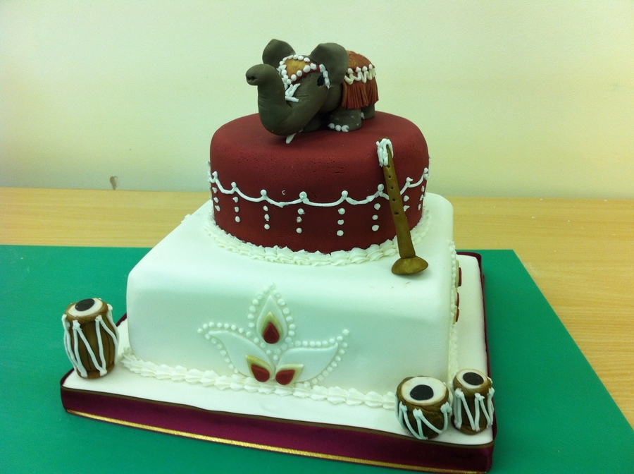 Indian Theme Cake on Cake Central