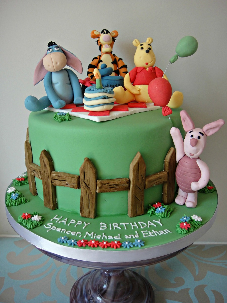 Winnie The Pooh Birthday Cake on Cake Central