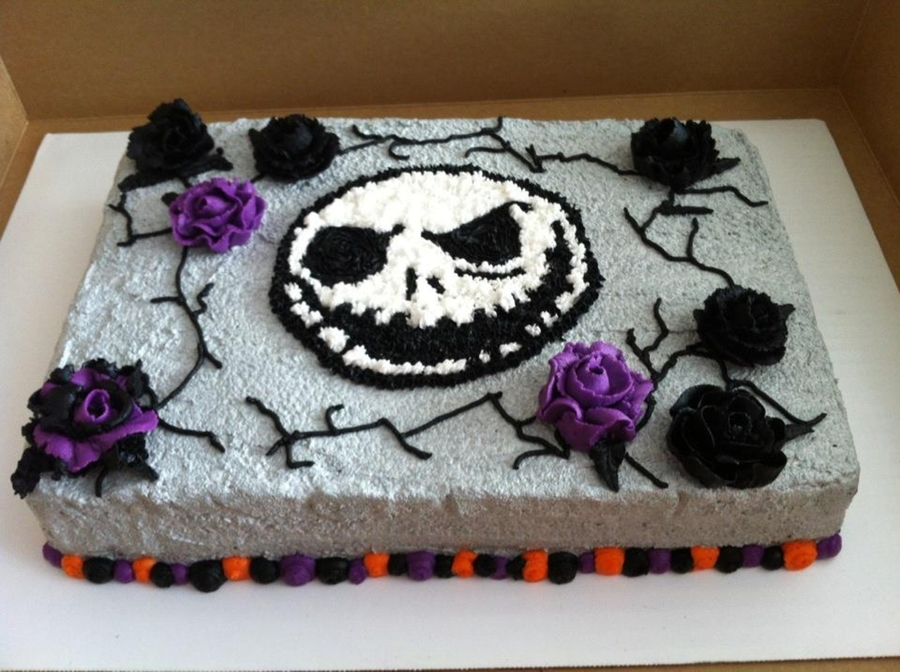 Jack Skellington Cake CakeCentralcom