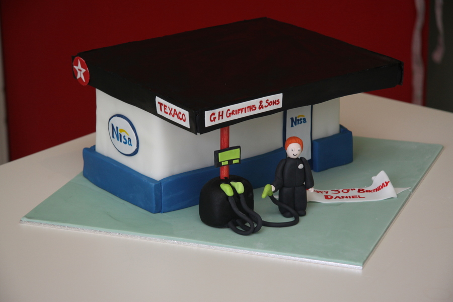 Petrol Station Cake On Central