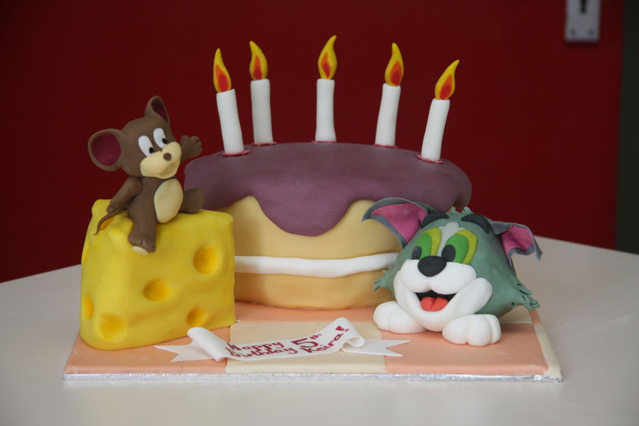 Tom And Jerry Birthday Cake Cakecentral
