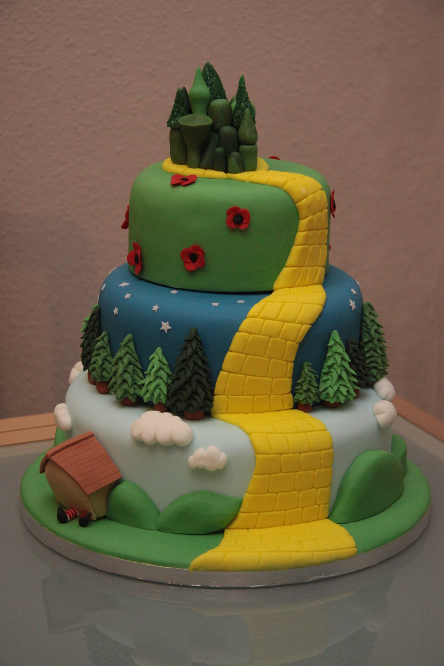 Wizard Of Oz Wedding Cake Cakecentral