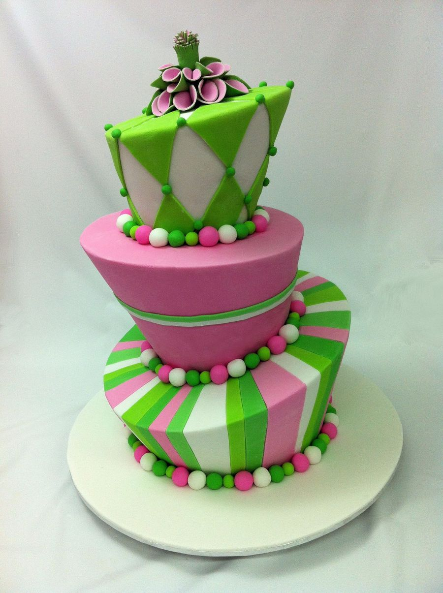 three tier cake three tier madhatter cakecentral 7981